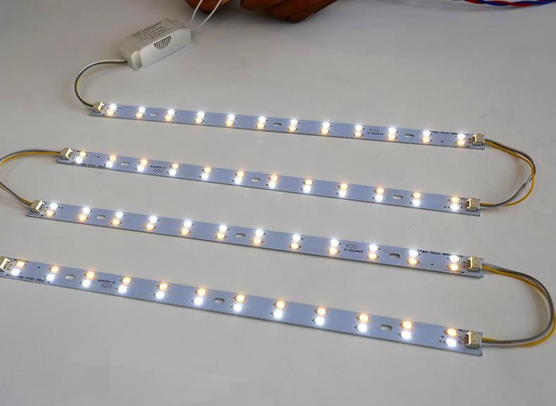 52cm Long 5730 LED Bar Light LED Tube Ceiling Lamp LED Light Source High Brightness With Power Driver Cold White/Warm White