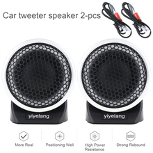 2pcs 150W Super Silk Car Dome Tweeter Speaker Loundspeaker Lound speaker for Vehicle Audio System High Efficiency YH-88D