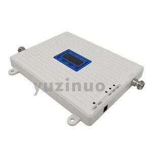 Image 3 - 65dB Tăng Màn Hình Hiển Thị LCD 2G 3G 4G Ba Dây Tăng Áp GSM 900 + DCS/LTE 1800 + FDD LTE 2600 Điện Thoại Di Động Lặp Tín Hiệu Khuếch Đại