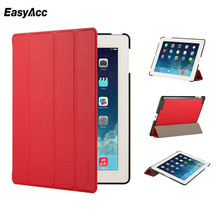цена на Easyacc Case For iPad 2 3 4 Cases Smart Auto Sleep Awake Flip Stand Full Protective Leather Cover For iPad 2 iPad 3 iPad 4 Case