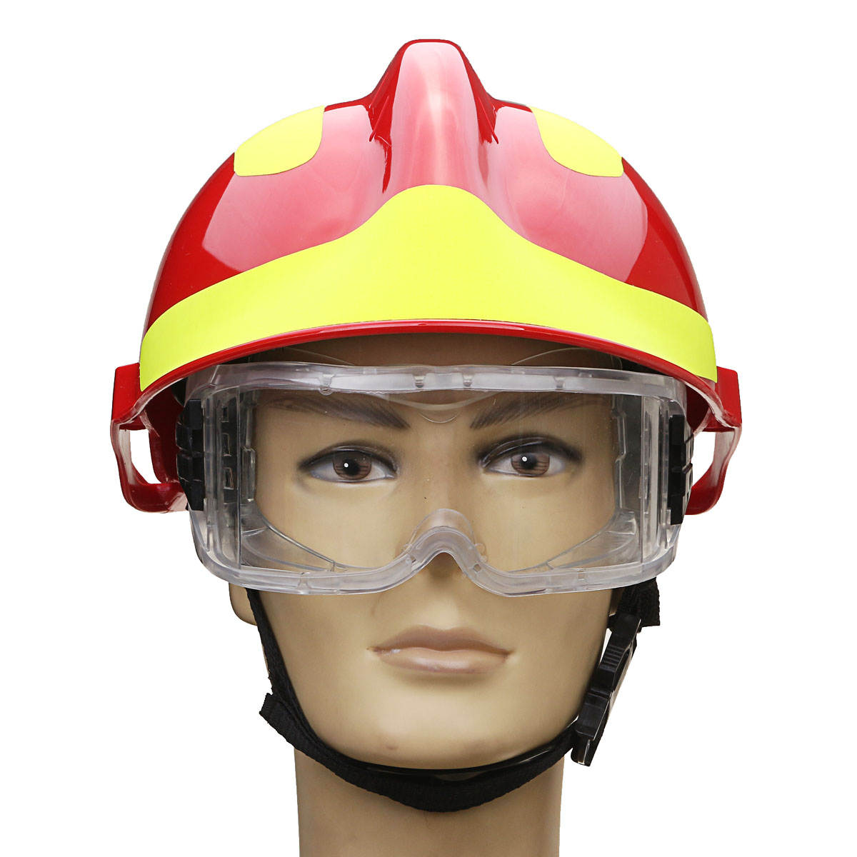 NEW Safurance Rescue Helmet Fire Fighter Protective Glasses Safety Protector  Workplace Safety Fire Protection  53CM-63CM fire maple sw28888 outdoor tactical motorcycling wild game abs helmet khaki