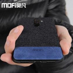 Xiaomi POCOPHONE F1 case cover global POCO F1 back cover silicone fabric protective phone case MOFi original POCOPONE F1 case