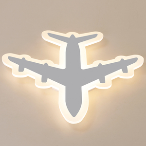 Image 5 - Modern  Acrylic Airplane LED Ceiling Light  Modern Kids Bedroom Ceiling lamp  decoration Childrom Room home indoor LED Lamps