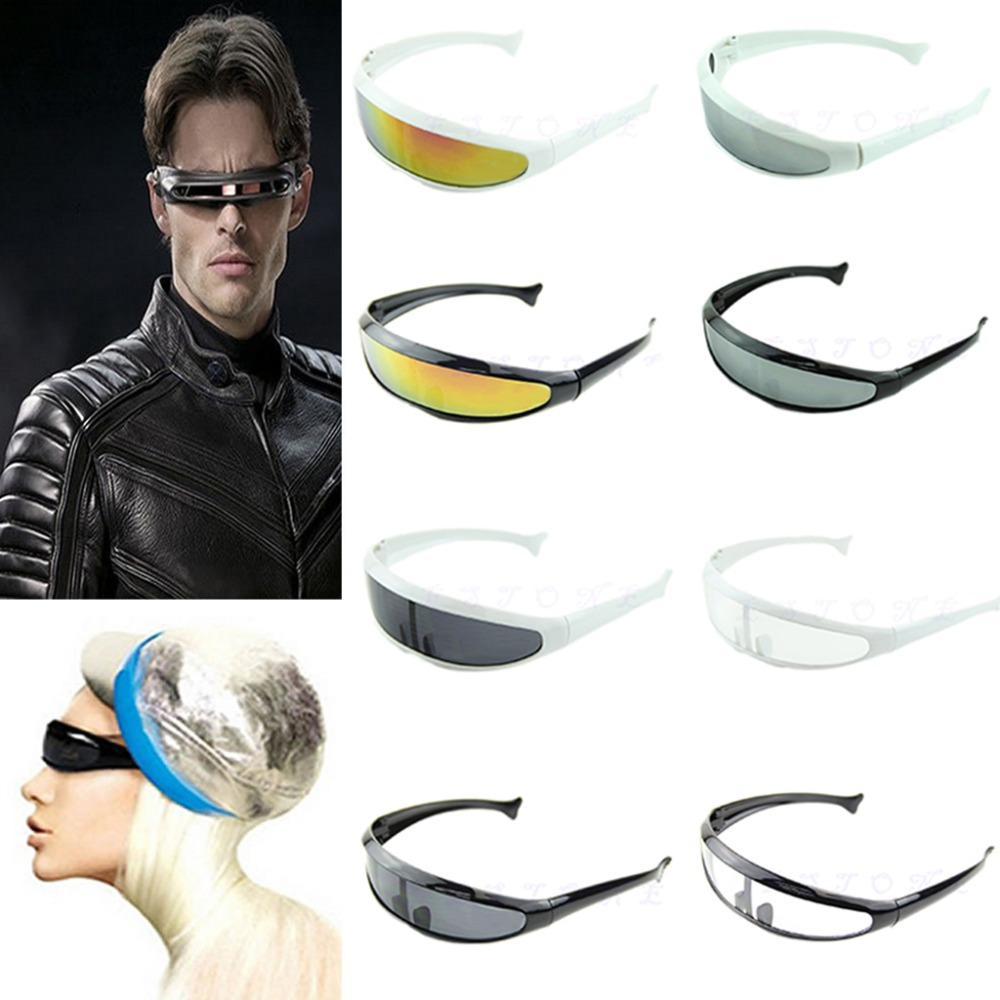 1Pc Motorcycle Bicycle Cycling Glasses Sunglasses UV400 Anti Sand Wind Protective Goggles