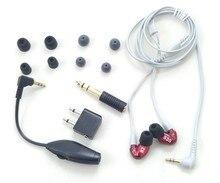 En Stock Marque SE535 Salut-fi stéréo Casque SE 535 Bruit Annulation 3.5 MM Dans l'oreille Écouteurs Séparé Câble casque avec Boîte VS SE215
