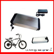 Rear rack 51.8v 30Ah 1500w  ebike li-ion battery 52v 30ah electric bicycle lithium battery with BMS  and charger For Sanyo Cell