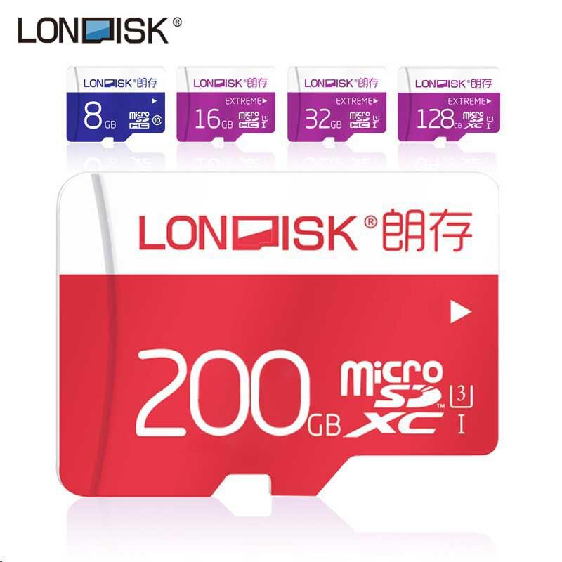 Londisk Micro Carta di DEVIAZIONE STANDARD 16 gb/32 gb/64 gb/128 gb Class10 UHS-1 Scheda di Memoria Flash 128 gb UHS-3 Microsd Per Smartphone Pad fotocamera