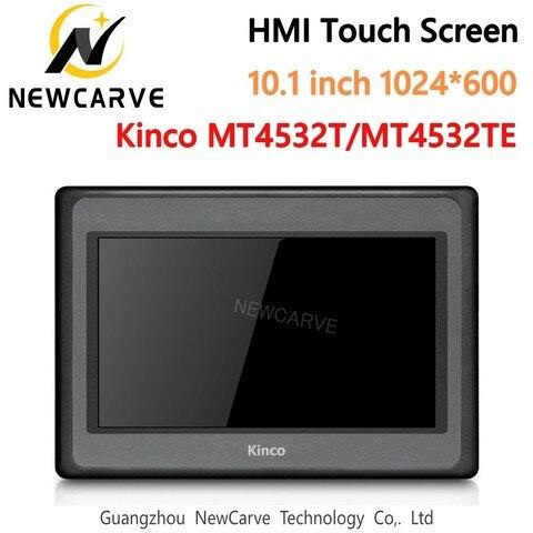 Tela de Toque Kinco Polegada 1024*600 Ethernet 1 Usb Host Nova Interface Máquina Humana Newcarve Mt4532t Mt4532te Hmi 10.1