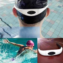 Super waterproof IPX8 Sport music 8GB MP3 Player Sports Neckband Swimming Diving with FM Radio Earphone