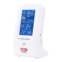 Высокая точность Газоанализаторы тонкой Air Quality детектор Крытый VOC PM2.5 регистратор данных детектор Air монитор термометр гигрометр