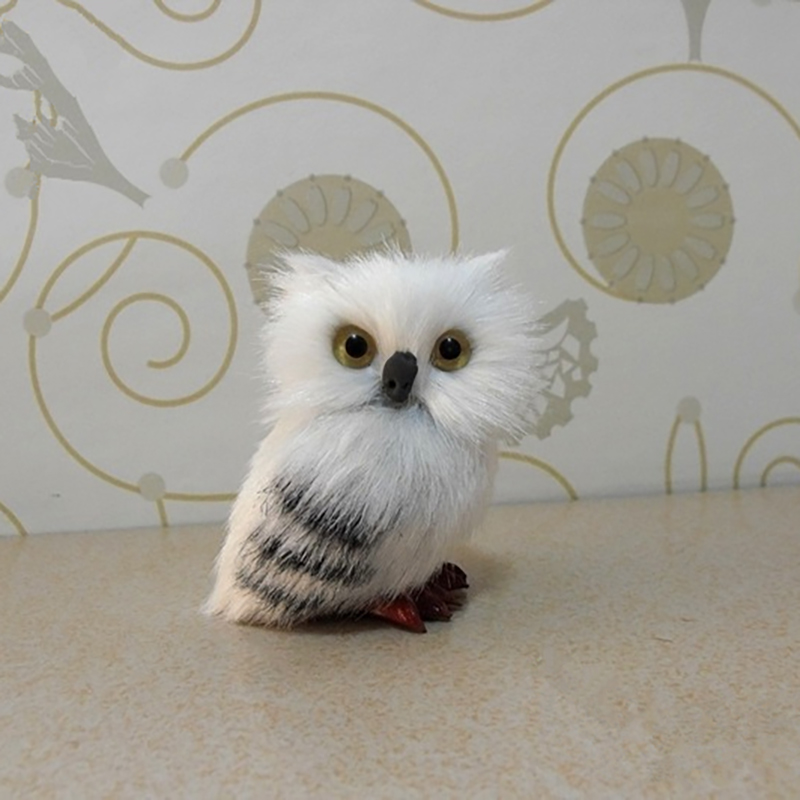 7cm High Cute For Harri Potter Snowy Owl Hedwig Letter Delivery Doll Cute Toys Halloween giift for children manitobah унты snowy owl mukluk женск 8 charcoal св серый