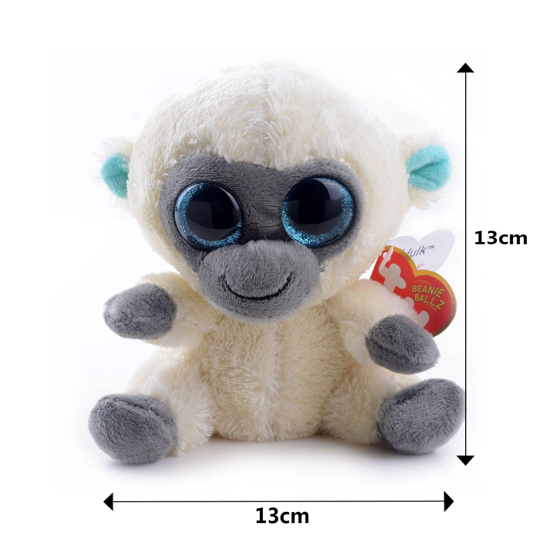 Cute 5 Original TY Collection MAGIC White Monkey Plush Toys Kids