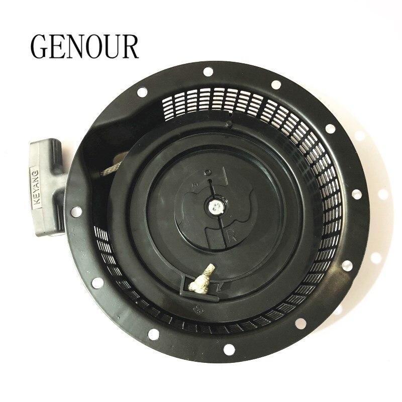 Le démarreur de recul convient aux pièces de moteur de générateur d'essence EF6600 MZ360, assemblage de démarreur de recul de haute qualité