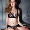 Сексуальное женское белье вышитые коллекция вице кружева кружевной бюстгальтер наборы