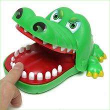 1pcs Boxed crazy crocodile pulling teeth to bite finger toys crocodile large crocodile popular crocodile