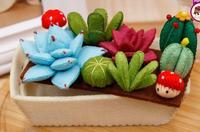 Ingemaakte potten Stof Vilt kit niet-geweven doek Craft DIY Naaien set Vilt Handwerk Materiaal DIY handwerken levert