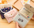 QL005 ID Credit Card Wallet 10.5*7.5cm Small fresh creative floral lace  package card sets  holder 22 card bit