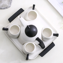 Top-grade cup coffee set home ceramic teapot bone china tea Water flower teacup Afternoon part