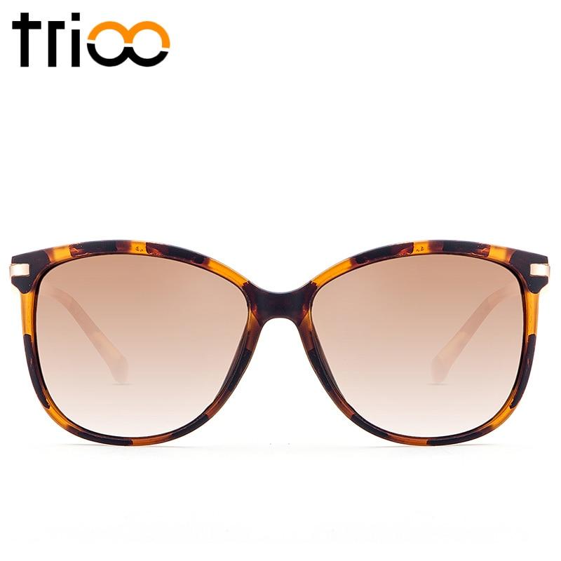TRIOO Hawksbill Barevné dámské sluneční brýle Polarizované řidičské dámy Sluneční brýle Značkový designér Anti-Glare UV400 Oculos Female