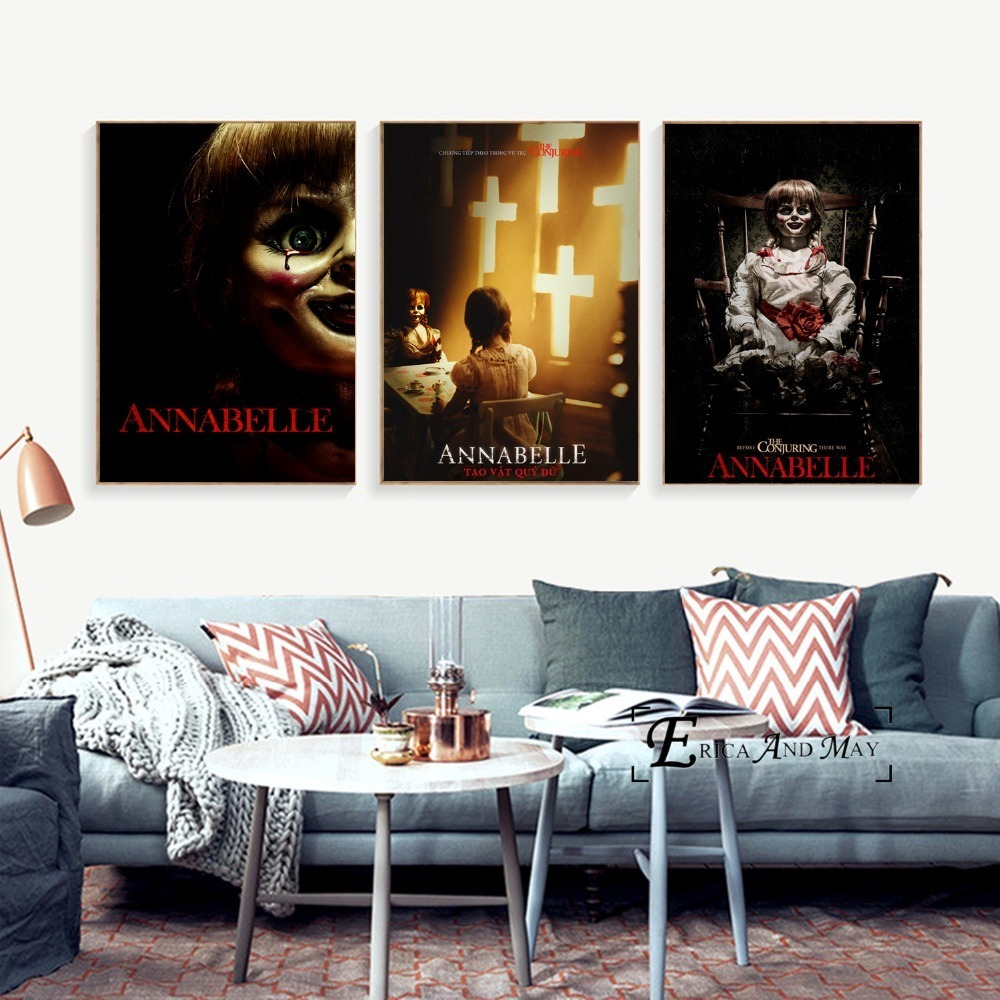 PENNYWISE  PHOTO  PRINT ON WOOD  FRAMED CANVAS WALL ART VERTICAL HOME DECORATION
