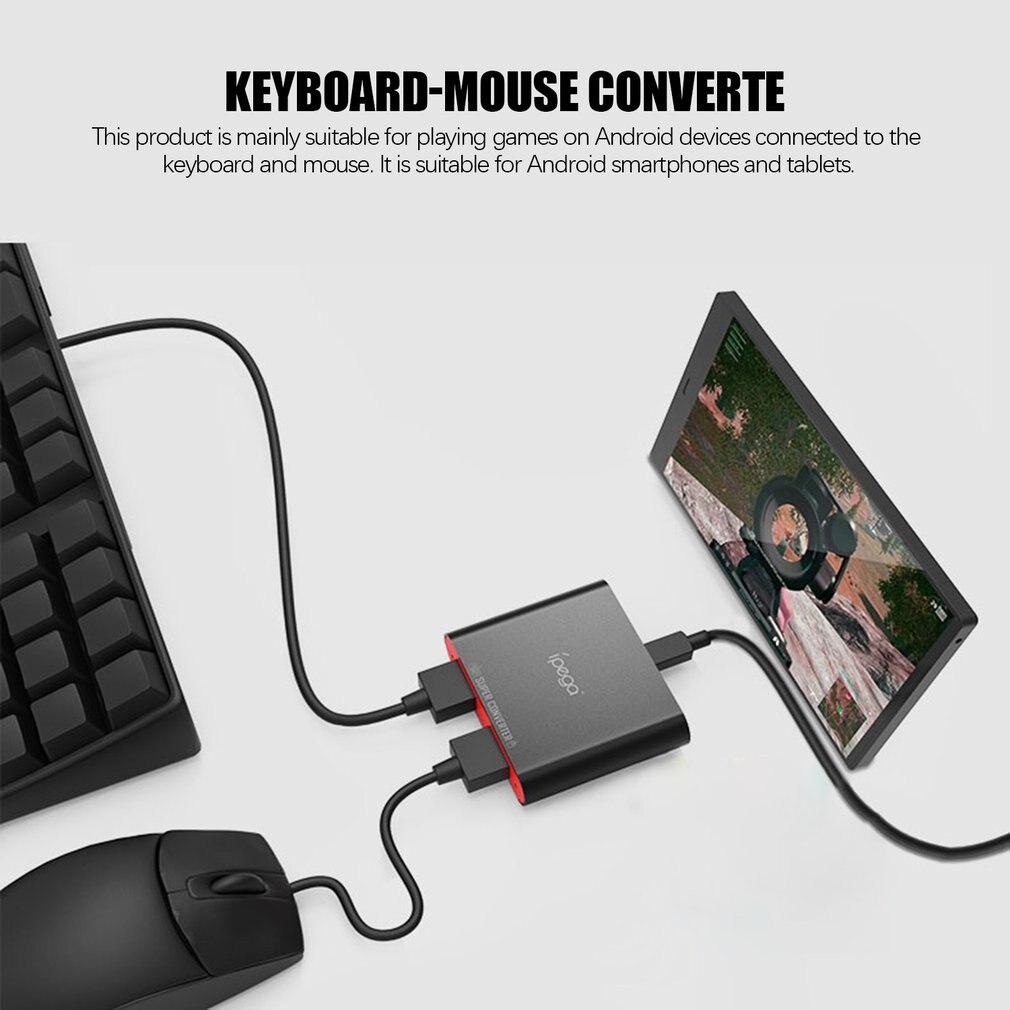 Ipega Pg-9116 Bluetooth clavier souris 2 en 1 convertisseur pour Mobile Pubg contrôleur jeux pour Android jouer jeux mobiles directement