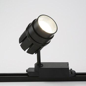 Lámpara de foco de 30 W, focos de Zoom para escenario de teatro, foco de proyección led, lámpara de luces de pista de 165-265V