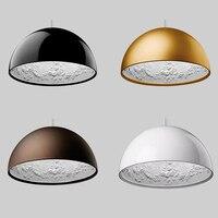 מודרני LED תליון מנורת שרף שמיים גן גילוף לופט תליון אורות תאורת אוכל חדר שינה תליית מנורת מטבח גופי