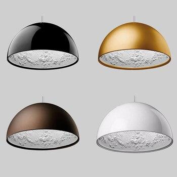 Moderne pendentif LED lampe résine ciel jardin sculpture LOFT pendentif lumières éclairage salle à manger chambre suspension lampe luminaires de cuisine