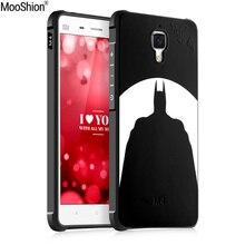 Mooshion Marque Case Pour Xiaomi mi 4 En Caoutchouc Coque TPU mignon Téléphone housse Case Couverture Souple En Silicone Pour Xiaomi mi4
