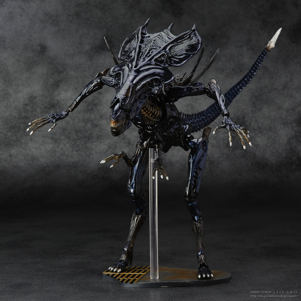SCI-FIRECOLTECK Aliens Series No.018 Alien Queen Xenomorph Warrior PVC Action Figure Collectible Model Toy Doll 32cm KT464 alien figure 018 alien queen xenomorph 18cm pvc action figures doll toys