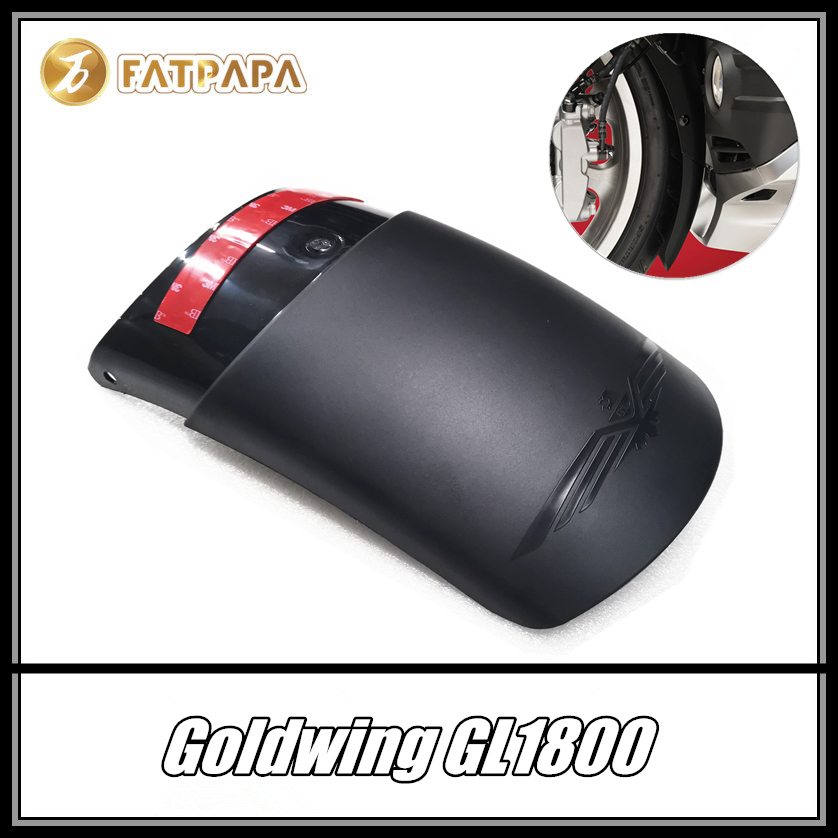 FOR HONDA Goldwing GL1800 GL 1800 Motorcycle Accessories ABS Injection Fairing Front Fender Lengthening