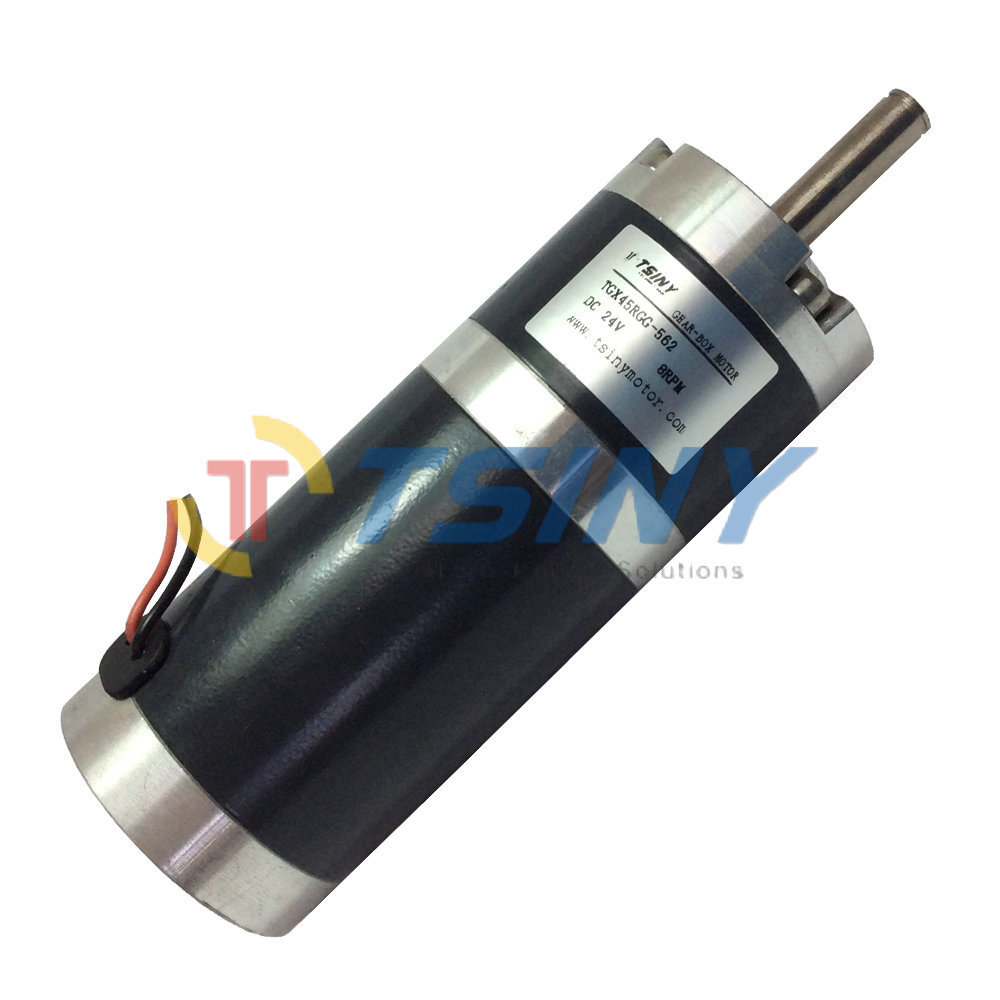 Tgx45 free shipping dc gear motor high torque 24v speed for High torque high speed dc motor