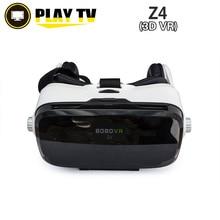 [ของแท้] BOBOVR Z4แว่นตา3DเสมือนจริงVRกล่องวิดีโอGoogleกระดาษแข็งสำหรับIos Ip Hone A Ndroid 4.7-6นิ้วมาร์ทโฟน