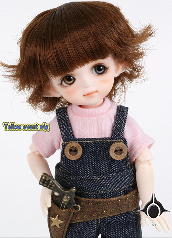 1/8 scale BJD about 15cm pop BJD/SD lovely kid Cat Byurl Resin figure doll DIY Model Toy gift.Not included Clothes,shoes,wig