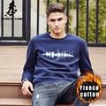Пионерский Лагерь толстые теплые толстовки мужчины марка одежды качество 2016 Новый Осень зима мужской моды случайные флис футболка для мужчин