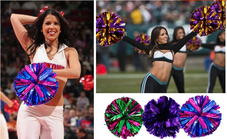 53b06d3ed5 Top quality! 40CM game pompoms cheering supplies Cheerleader pom ...
