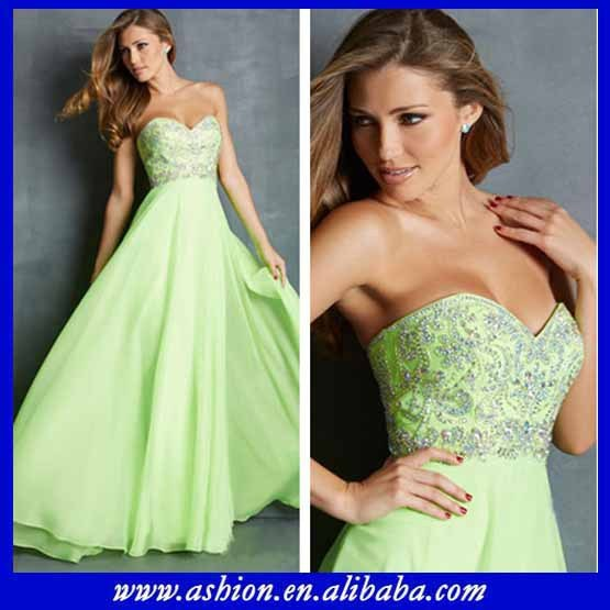 Ed 2766 Y Long Green Evening Dresses For 21st Birthday Party