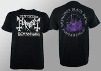 OKOUFEN Authentic MAYHEM Band Orthodox Black Metal T Shirt S M L XL XXL NEW Men
