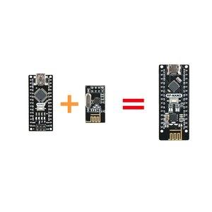 Image 4 - Keywish RF Nano per Arduino Nano V3.0, micro USB Nano Bordo di ATmega328P QFN32 5V 16M CH340, Integrare NRF24l01 + 2.4G wireless