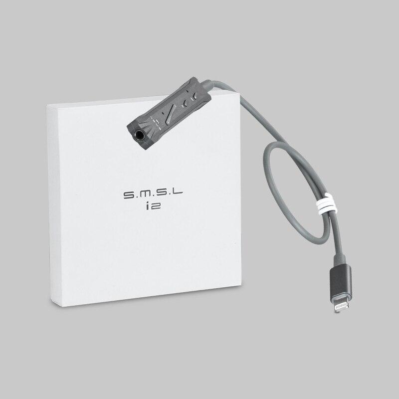 SMSL SMSL i2 Lightning DAC Amp voor iphone ipod iPads iOS Switching lijnen HIFI Professionele kabel - 6
