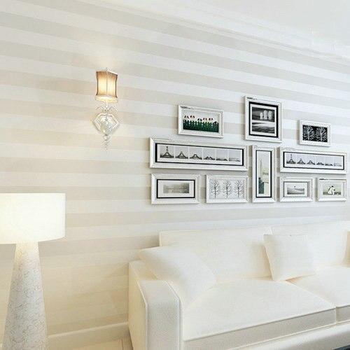 d papel pintado paredes rayas verticales no tejido papel tapiz de tela wallpaers pared del rollo