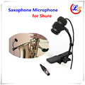 Professional Lapela Condenser Saxophone Microphone Music Instrument Microfone for Shure Wireless  System XLR mini Microphones