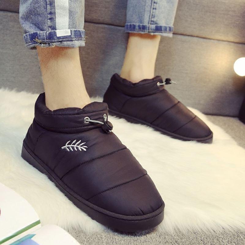 2018 г. зимние ботинки водонепроницаемые женские хлопковые ботильоны Нескользящая модная зимняя теплая хлопковая обувь женская обувь; botas mujer