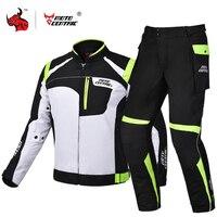 MOTOCENTRIC Motorrad Jacke Schutz Getriebe Winddicht Wasserdicht Moto Jacke Motocross Racing Reiten Jacke Für 4 Saison #-in Jacken aus Kraftfahrzeuge und Motorräder bei