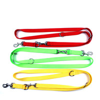 nylon-double-buckle-dog-leash-for-two-dogs-pet-traction-rope-leashes-one-drag-two-dog-chain-lead-daily-walking-training-pet-belt