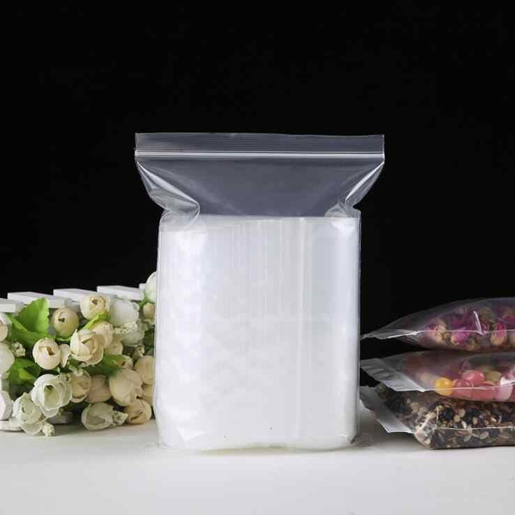 200 pcs/lot 10x15cm/13x19cm/15x22cm/25x35cm Clear Soft  Bony bag Transparent PE Bag Packing Self Adhesive Seal