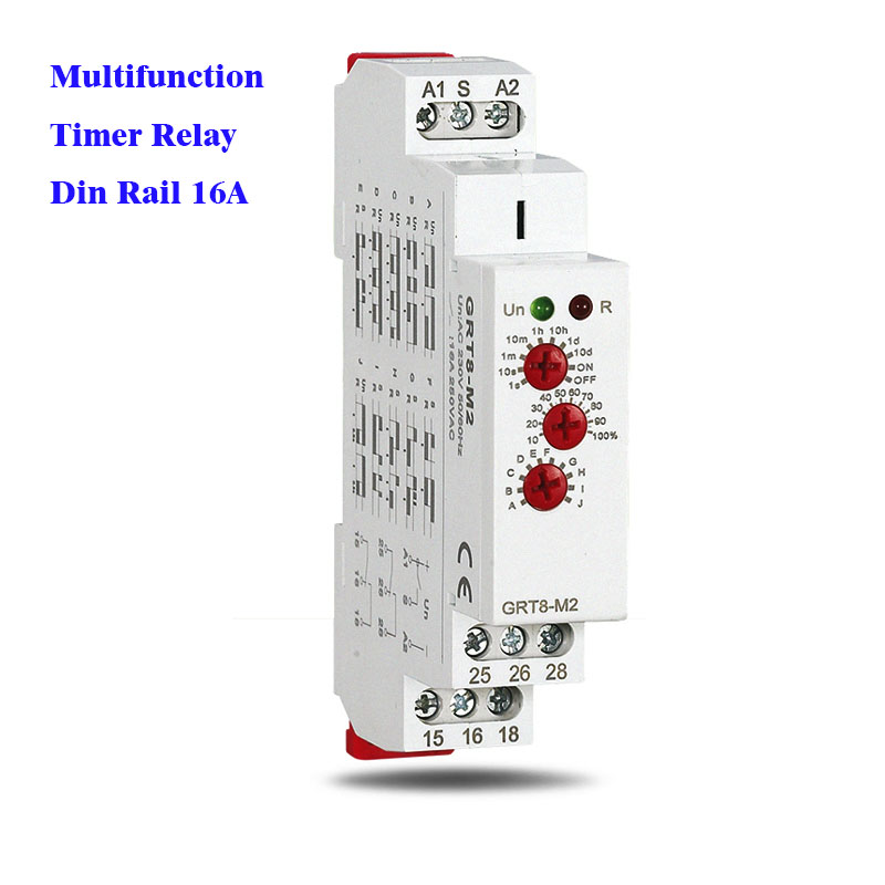 best top rail 12v timer relay switch nds and get free ... Idec Relay Wiring Diagram Sr P on