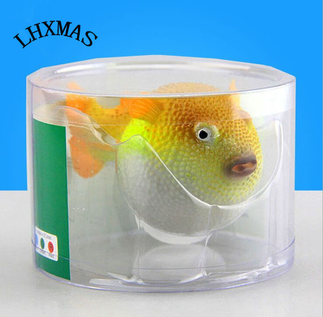 Simulation Silicone Fish Aquarium Decorations Ugly Fake Fish A032 In