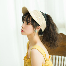Summer Fashion sun hat Unisex Concise Open-top Sun Hat Ultraviolet Light Resistant