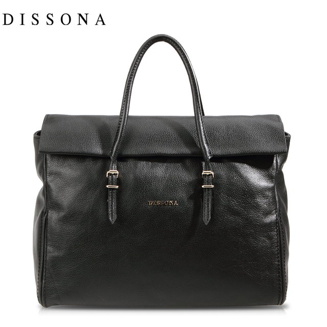 Dissona Women S Handbag Handle Bag Cowhide Leather Genuine 8123a01821